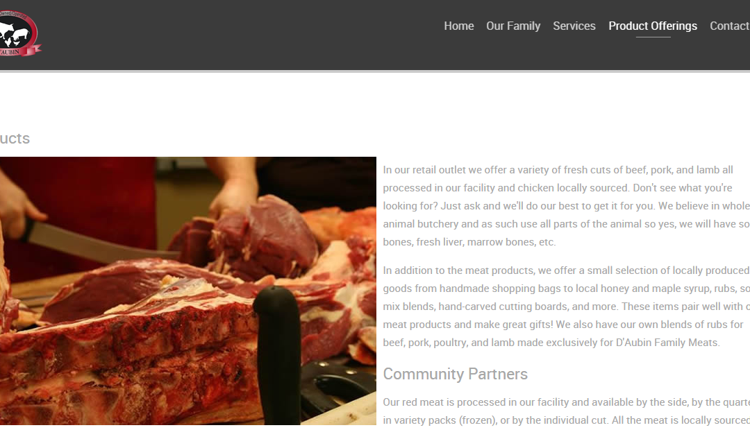 D'Aubin's Family Meats
