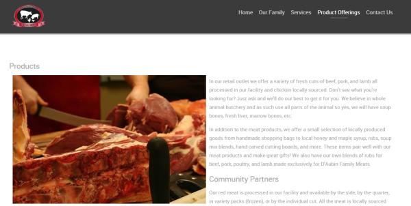 D'Aubin's Family Meats