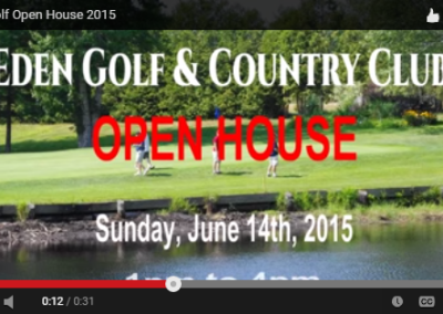 Eden Golf Open House